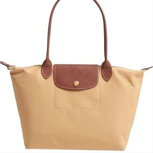 Longchamp Le Pliage Mini Tan Tote Bag